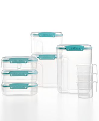 Martha Stewart Collection 15 Piece Food Storage Container Set, Created For  Macyu0027s,