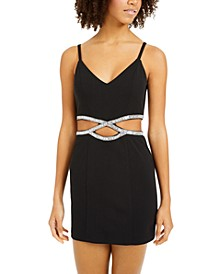 Juniors' Infinity-Waist Bodycon Dress
