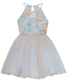 Big Girls Embroidered Dress