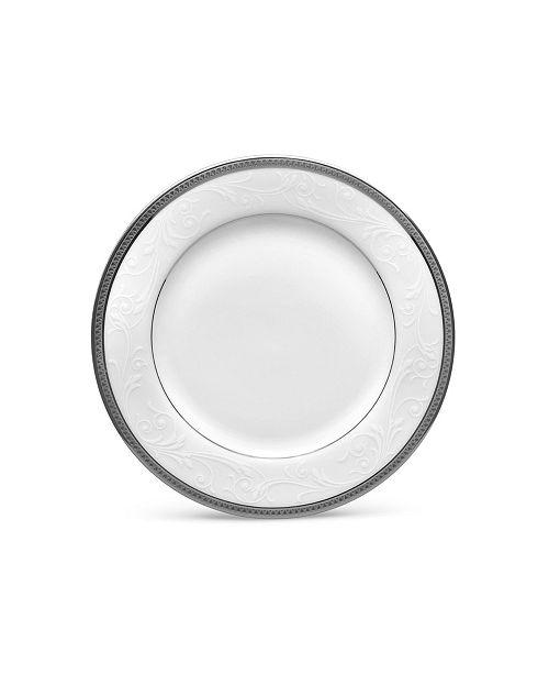 "Noritake Regina Platinum Bread & Butter/Appetizer Plate, 6-1/4"""