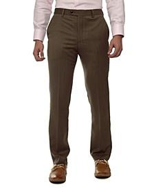 Men's Flat Front Dress Pants