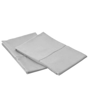 Belle Epoque 420 Tc Supima Pillowcase Pair with Hem Stitch, King Bedding