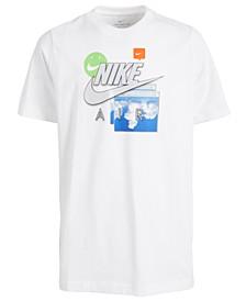 Big Boys Cotton Future Fast T-Shirt