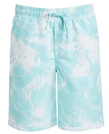 Big Boys Tie-Dyed Swim Trunks, Created For Macy's