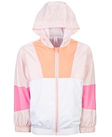 Little Girls Colorblocked Windbreaker Jacket, Created for Macy's