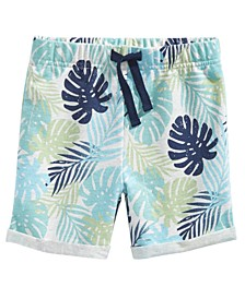 Baby Boys Tropical-Print Shorts, Created For Macy's
