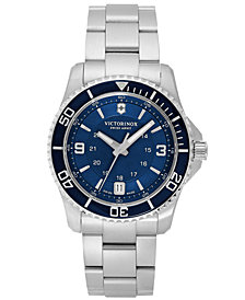 Victorinox Swiss Army Watch, Women's Maverick GS Stainless Steel Bracelet 34mm 241609