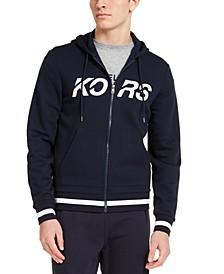 Men's Full-Zip Fleece Logo Hoodie