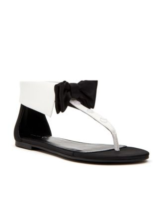 Katy Perry Delle Bow Tie Flat Sandals