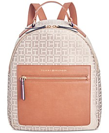 Lea Jacquard Backpack