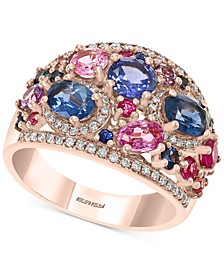EFFY® Multi-Gemstone (3-1/5 ct. t.w.) & Diamond (1/4 ct. t.w.) in 14k Rose Gold