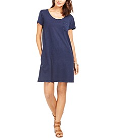 Petite Cotton T-Shirt Dress, Created for Macy's