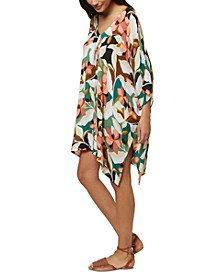 Juniors' Calla Printed Cover-Up Dress, Created for Macy's