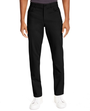 Calvin Klein Men's Ck Move 365 Slim-Fit Performance Stretch Pants