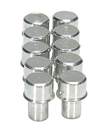 """Magclip 0.25"""" Power Pegs for Power Mat, Socket Caddy or Magnetic Strip, 10 Pack"""