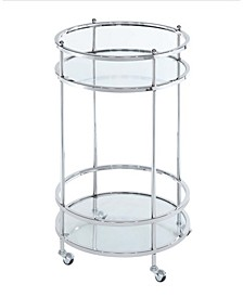 Royal Crest Bar Cart With Wheels