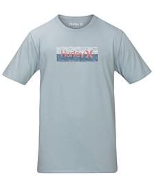 Men's Wave Block Logo T-Shirt