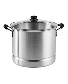 24-Qt. Steamer with Glass Lid