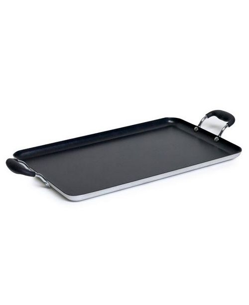 IMUSA Double Burner Griddle with Cool Touch Handles