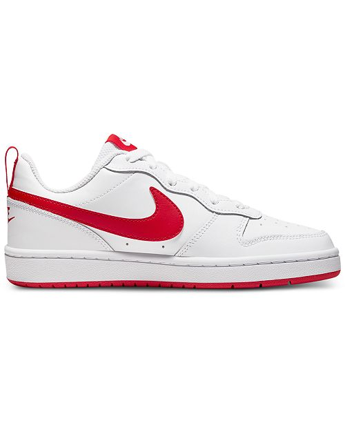Nike Big Boys Court Borough Low 2 Casual Sneakers from Finish Line