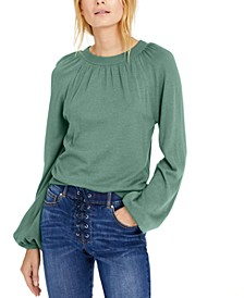 INC Balloon-Sleeve Sweater, Created for Macy's