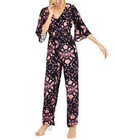 INC Tie-Dyed Jumpsuit, Created for Macy's