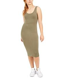 Bodycon Scoop-Neck Midi Dress, Created for Macy's