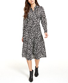 Petite Belted Shirtdress, Created For Macy's