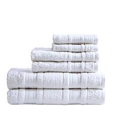 Caro Home Montauk 100 Cotton 6 Pc Towel Set Reviews Bath Towels Bed Bath Macy S