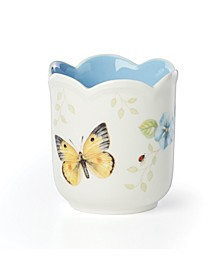 Butterfly Meadow Filled Candle, Blue Geranium