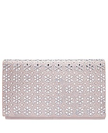 Araminta Crystal Flower Embellished Clutch