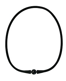 "EFFY Onyx (10mm) Silicone 16"" Necklace"