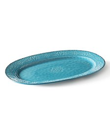 """Colors of Italy - 15"""" Oval Serving Plate"""