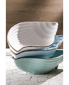 "Mediterraneo 9.5"" Conch Bowl - Set of 3"
