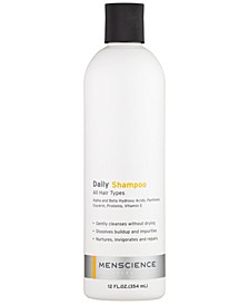 Daily Shampoo Unscented All Hair Types For Men 12 FL.OZ.