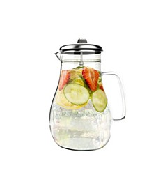 64-Oz. Glass Pitcher with Lid