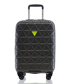 "Fashion Travel Le Disko 20"" Hardside Carry-On Spinner"