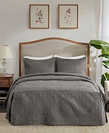 Madison Park Quebec 3 Piece King Fitted Bedspread Set