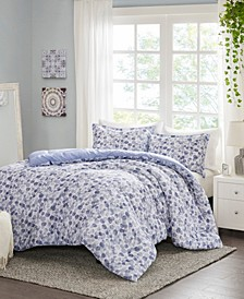 Nells 3-Piece King/Cal King Printed Comforter Set