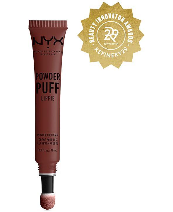NYX Professional Makeup Powder Puff Lippie