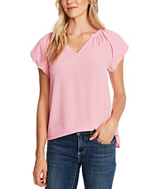 Bubble-Sleeve Top