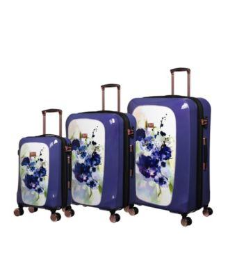 Gleaming 3-Piece Hardside Expandable Luggage Set