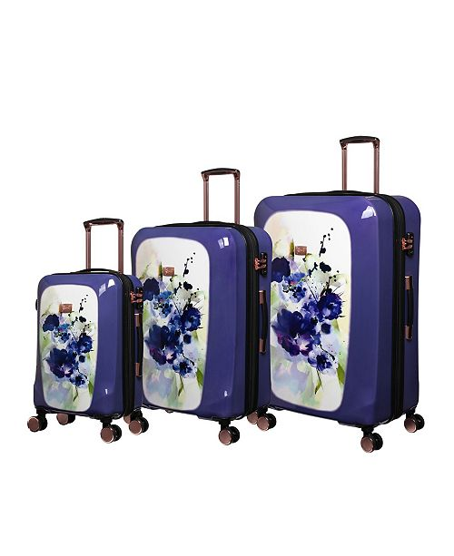 it Girl Gleaming Hardside Expandable Luggage Collection