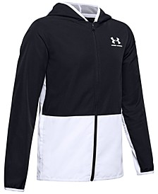 Big Boys Colorblocked Hooded Track Jacket