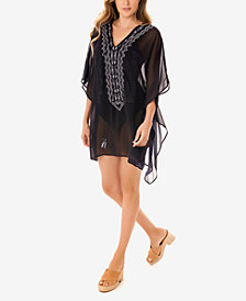 Miraclesuit Stitch Mix Caftan Swim Cover-Up