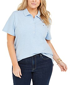 Plus Size Polo Shirt