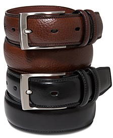 Portfolio Men's Big and Tall Leather Belt