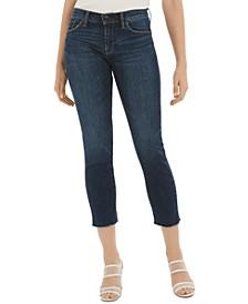 Nico Love Frayed-Hem Jeans