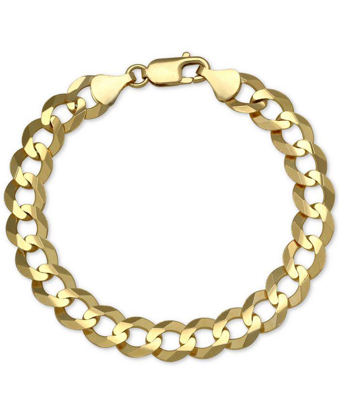 Macy's - Cuban Chain Link Bracelet in 10k Gold