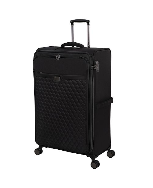 "it Girl 32"" Spectacular Softside Semi-Expandable Spinner Suitcase"